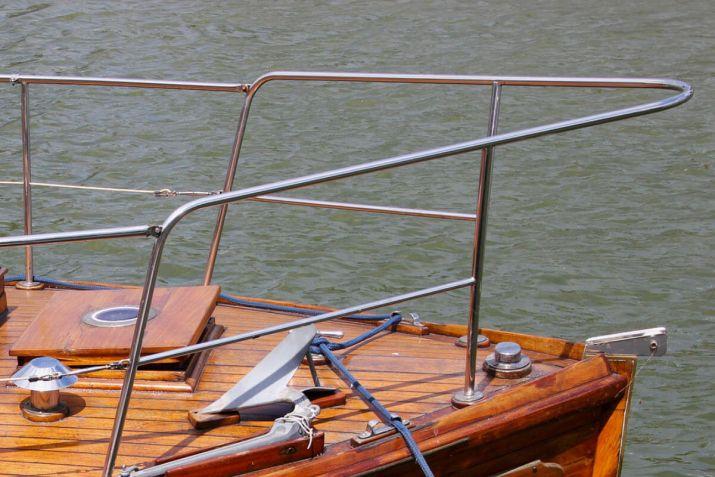 marine steel yacht rail
