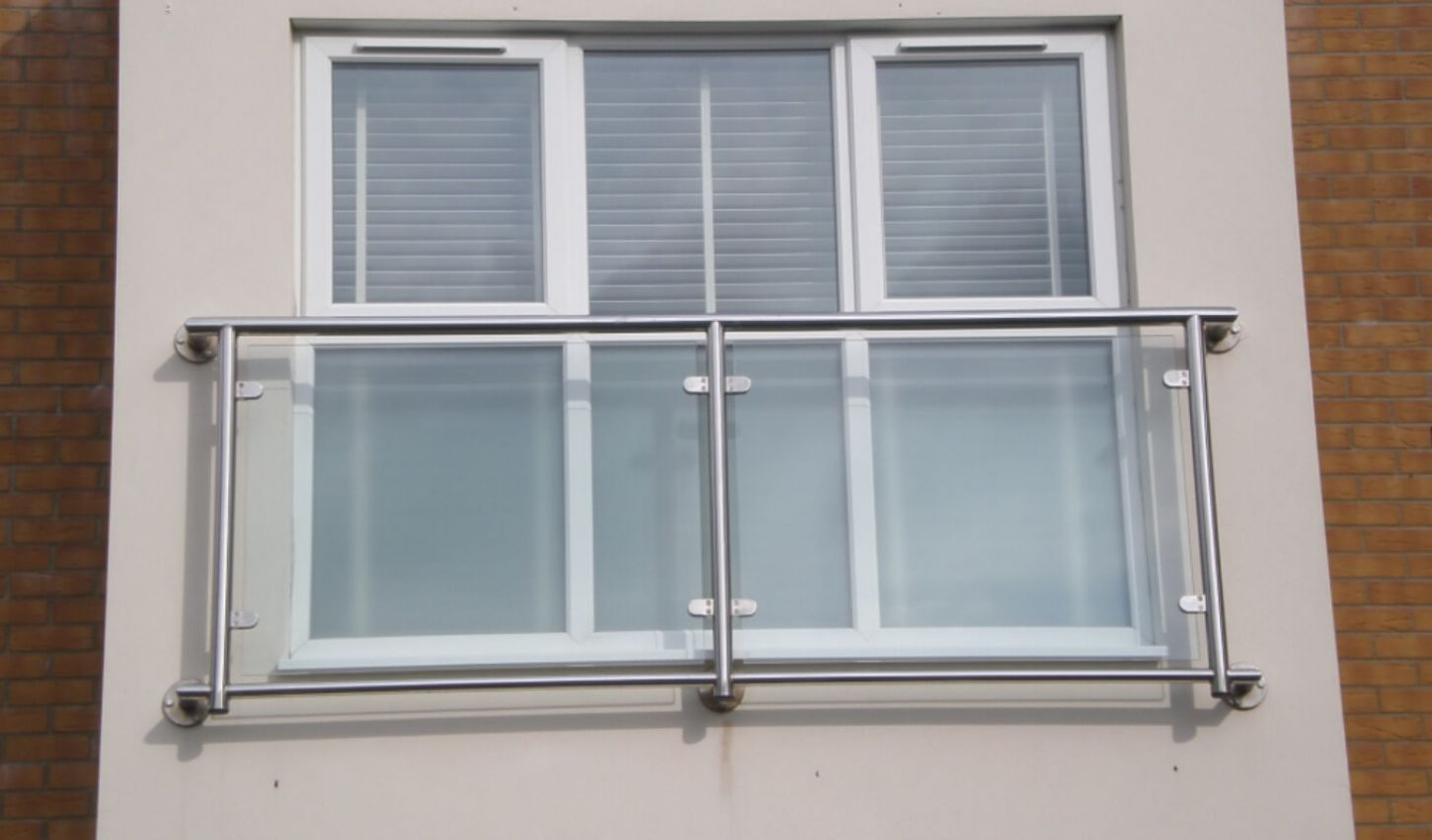stainless steel juliette balcony