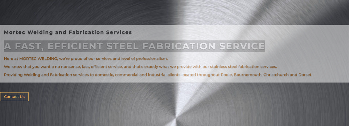 Welding & Fabrication Services Poole, Dorset