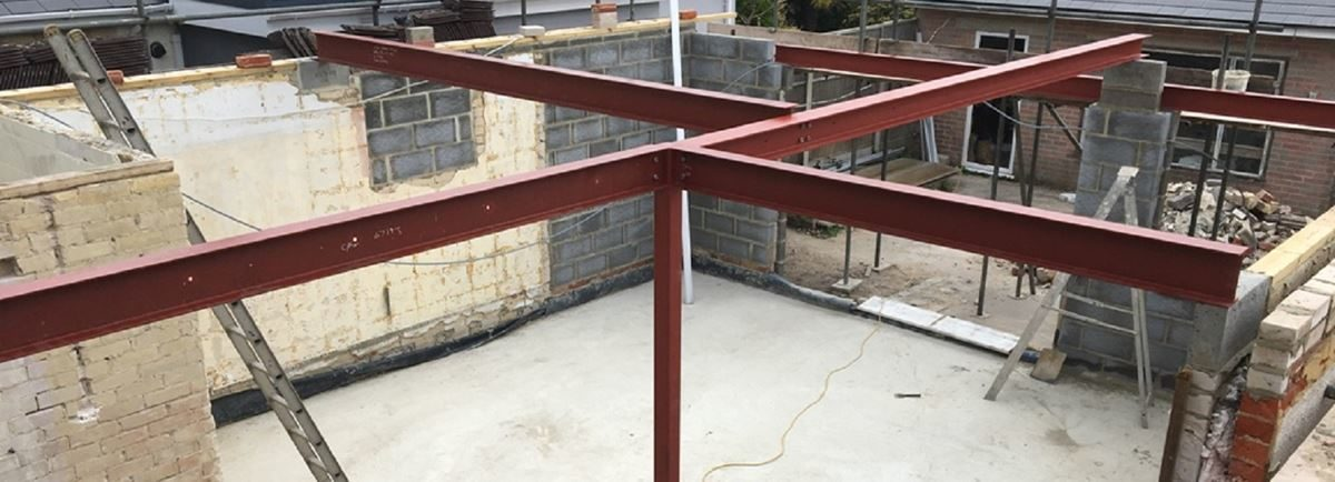 structural steel beams & columns