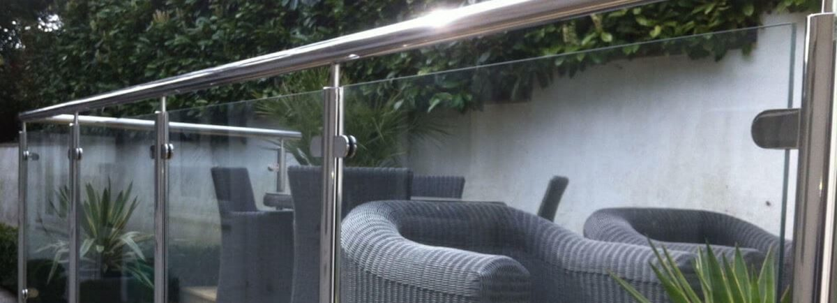 stainless steel and glass balustrade Dorset