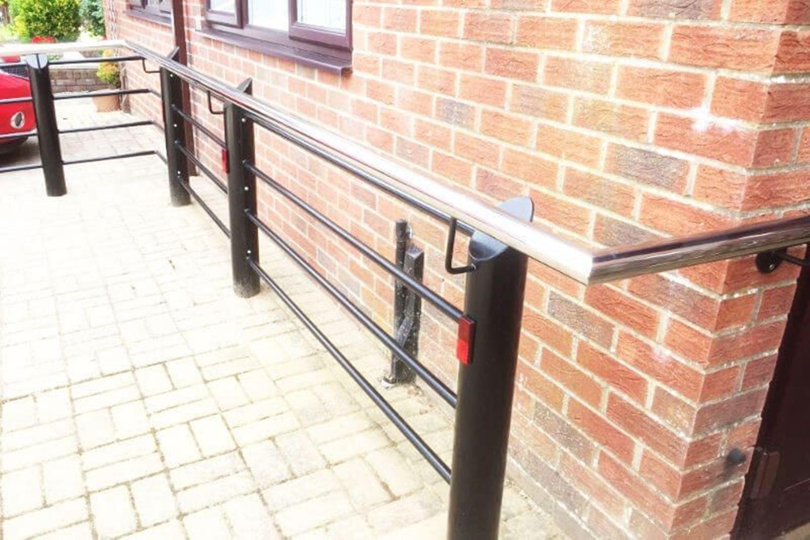 Stainless Steel Handrail Dorset